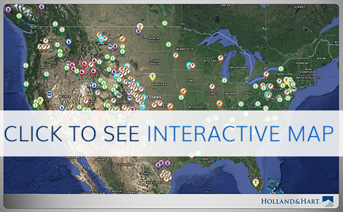 Linear Infrastructure interactive map. Click to see interactive map.